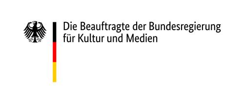 Logo Staatsmninisterin für Kultur und Medien